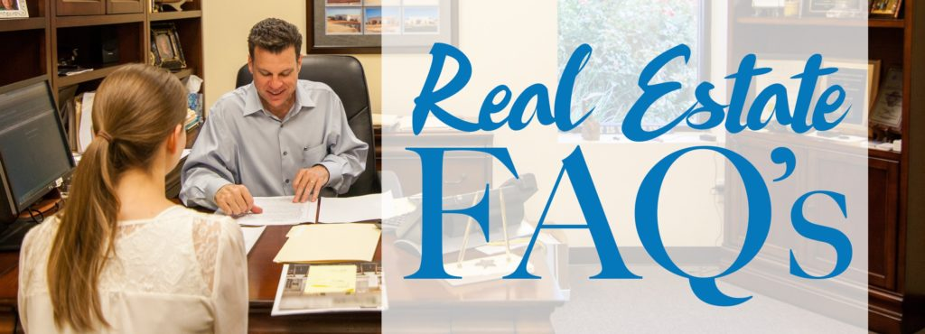 Real Estate Frequently Asked Questions - Williams landmark Real Estate